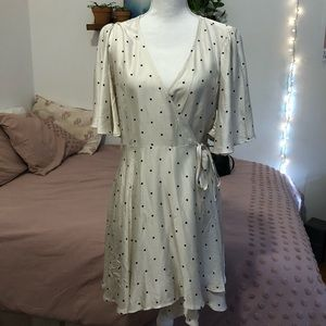 H&M Wrap Polka Dot Dress